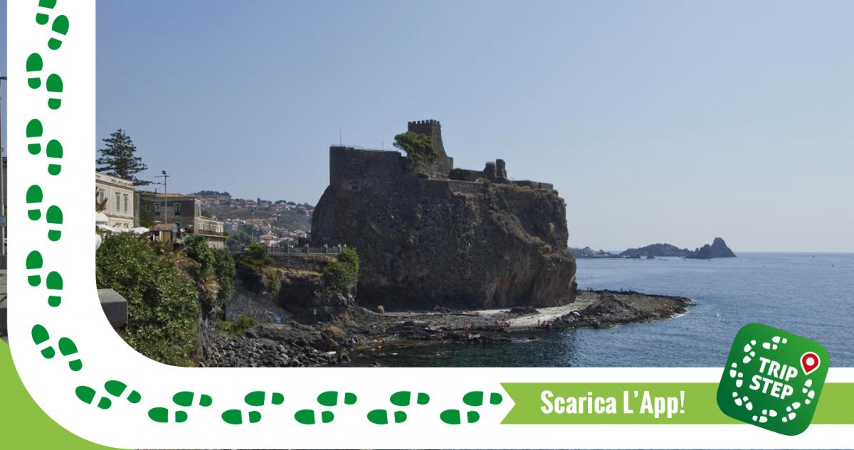 Aci Castello Veduta del Castello di Aci foto di: trolvag via Wikimedia Commons