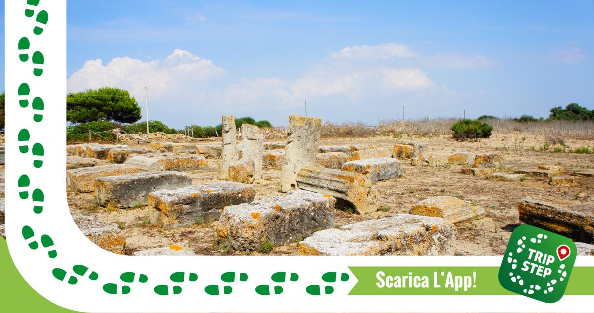 Area archeologica di Kamarina foto di Andrea Comisi via Wikimedia Commons