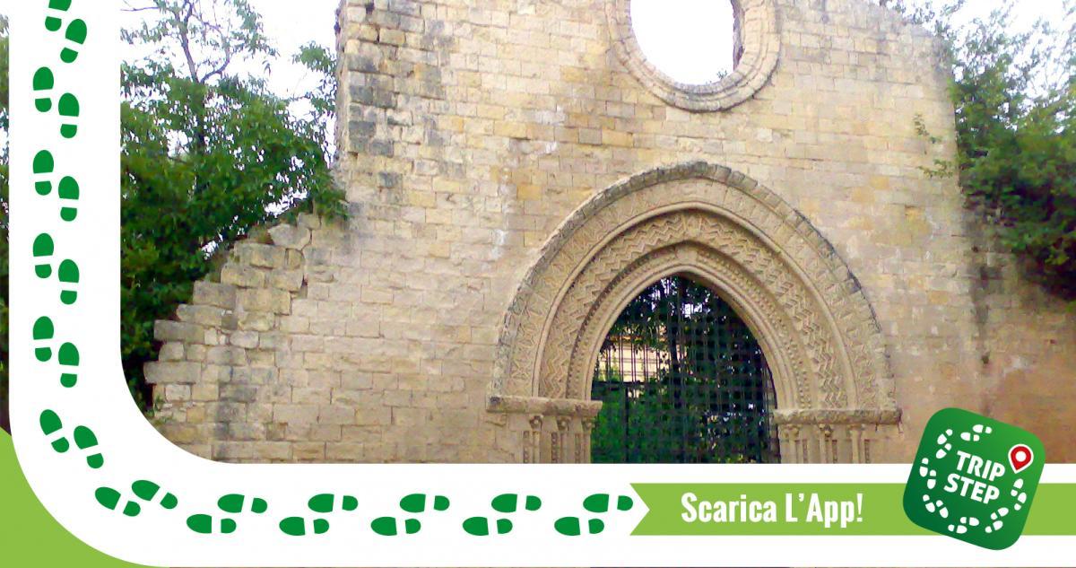 Bivona portale Chiaramontano resti chiesa Madre foto di Markos90 via Wikimedia Commons