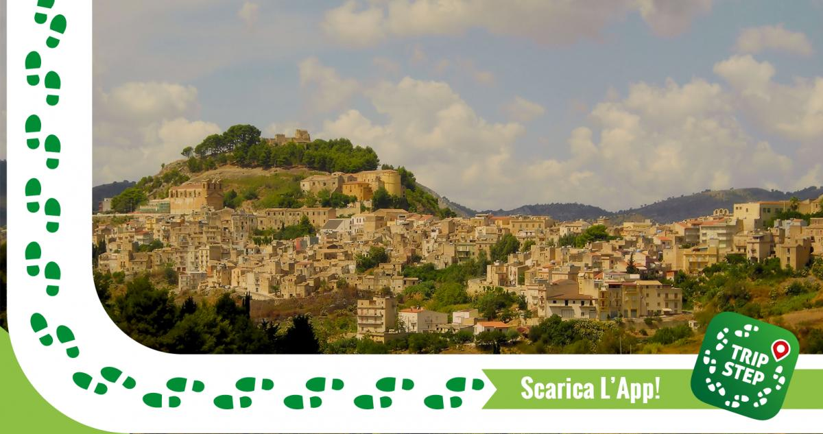 Calatafimi Segesta panorama con il castello Eufemio foto di Francesco Di Bartolo via Wikimedia Commons