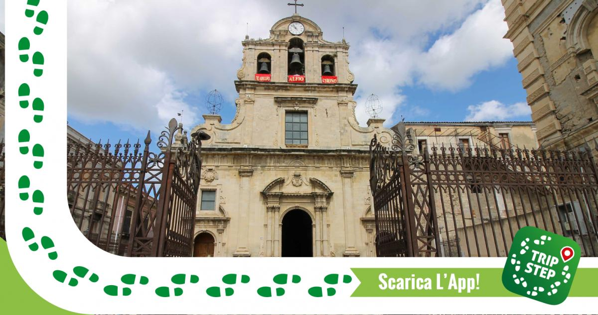 Chiesa Madre Santa Maria La Cava e Sant' Alfio foto di Antreus93 via Wikimedia Commons