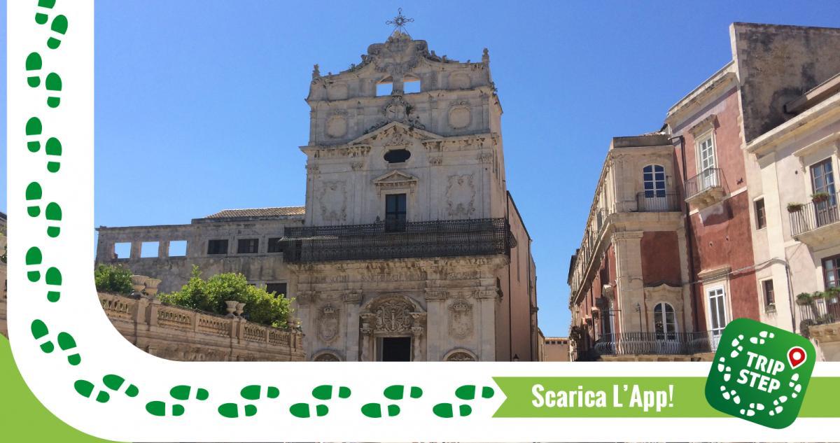Siracusa Ortigia chiesa di Santa Lucia alla Badia