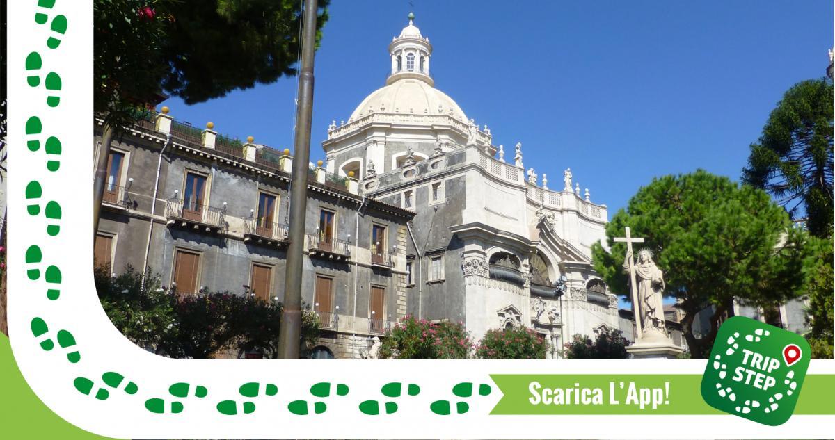 Chiesa della Badia di Sant'Agata facciata foto di giggel via Wikimedia Commons