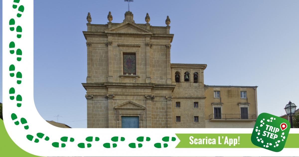 Chiesa madre di Villarosa foto di trolvag via Wikimedia Commons