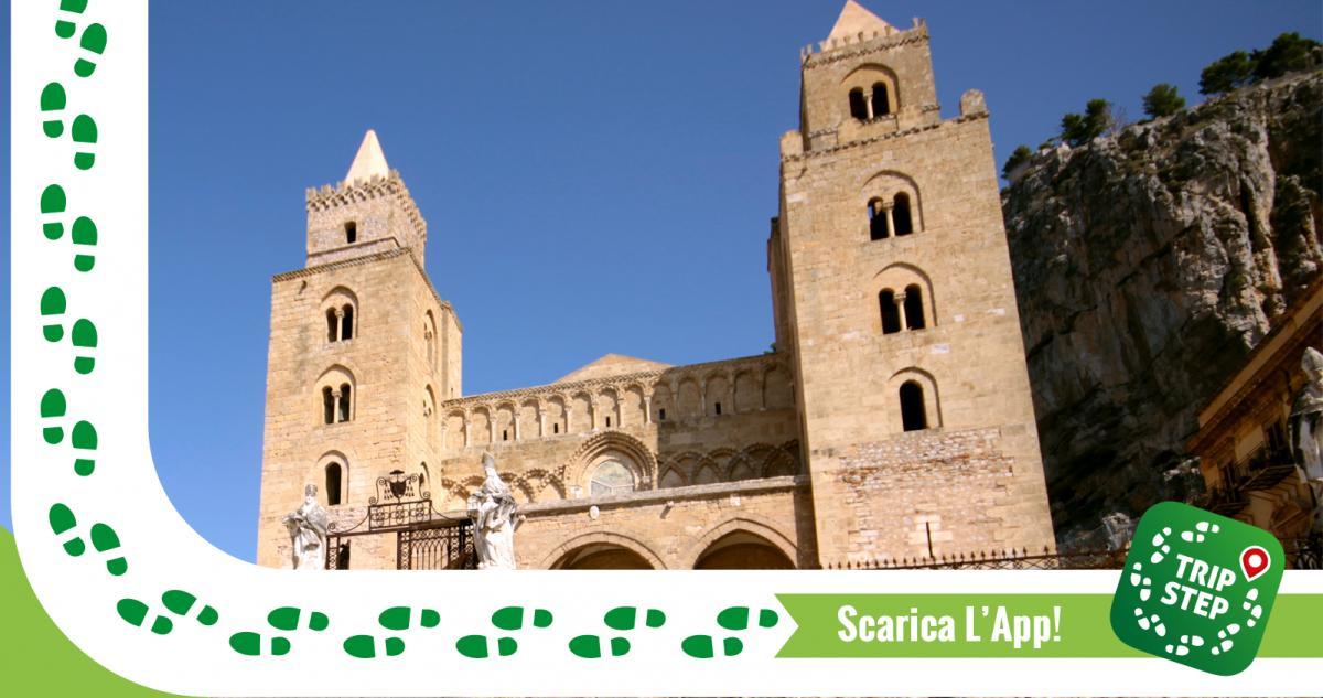 Facciata del Duomo di Cefalù foto di: Massimiliano Greco via Wikimedia Commons