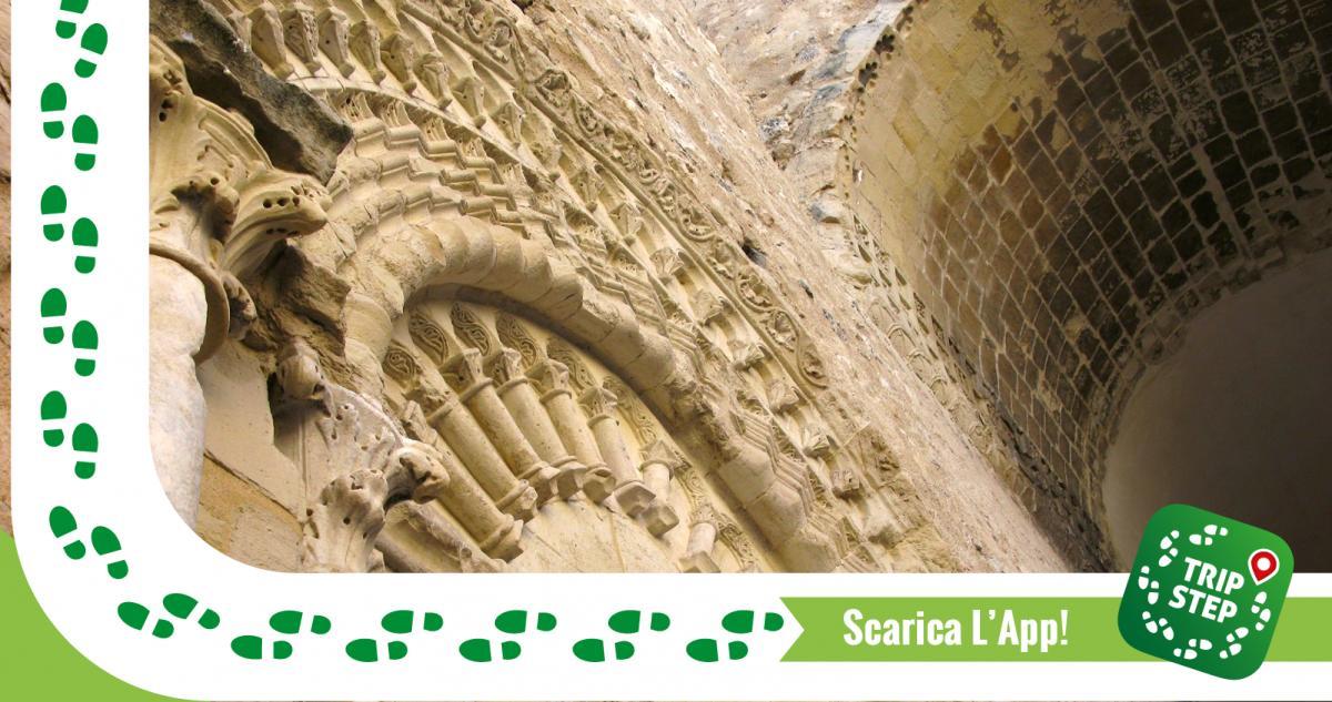 Portale d'ingresso della cappella del castello Chiaramontano di Favara foto di: Toni Pecoraro via Wikimedia Commons