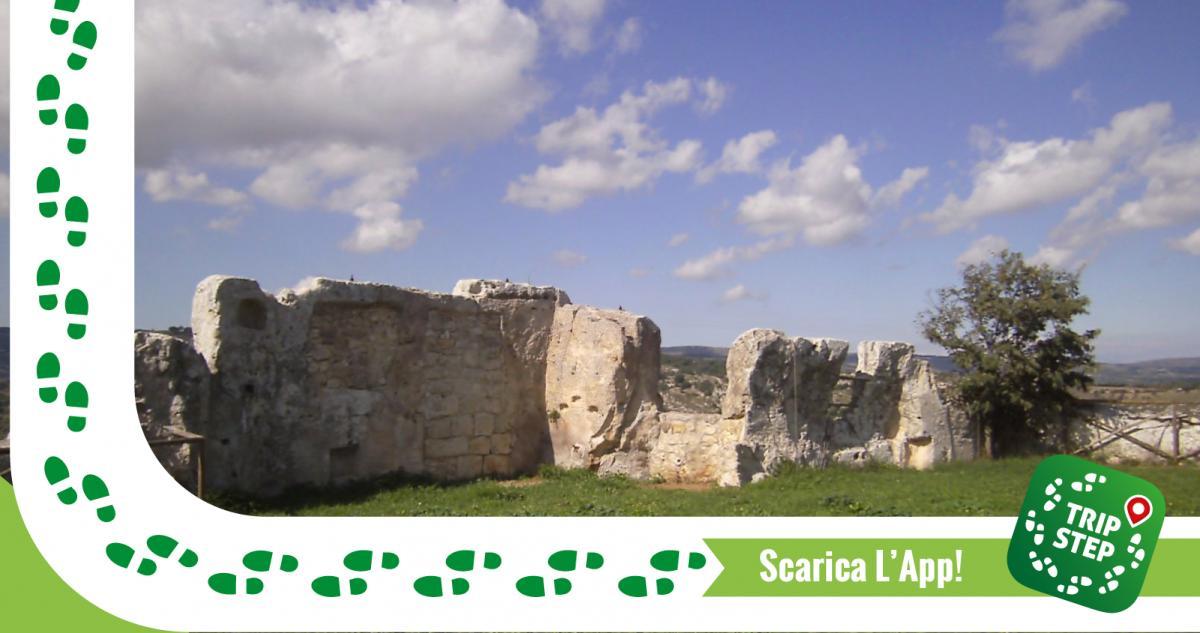 Ruderi del castello di Palazzolo Acreide foto di: niteed via Tripadvisor