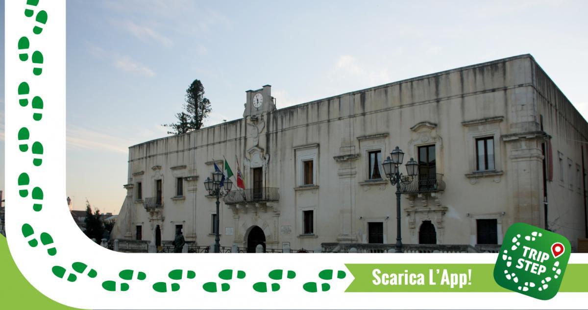 Santa Margherita di Belice palazzo Gattopardo foto di Davide Mauro via Wikimedia Commons