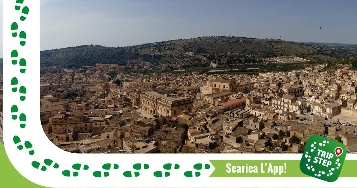 Scicli panorama foto di: Davide Mauro via Wikimedia Commons