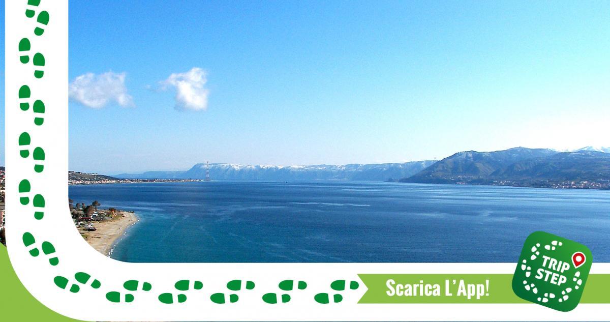 Stretto di Messina foto di Marco Crupi via Wikimedia Commons