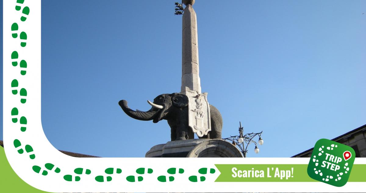 "Catania fontana dell' Elefante ""U Liotru"" foto di: Leandro Neumann Ciuffo via Wikimedia Commons"