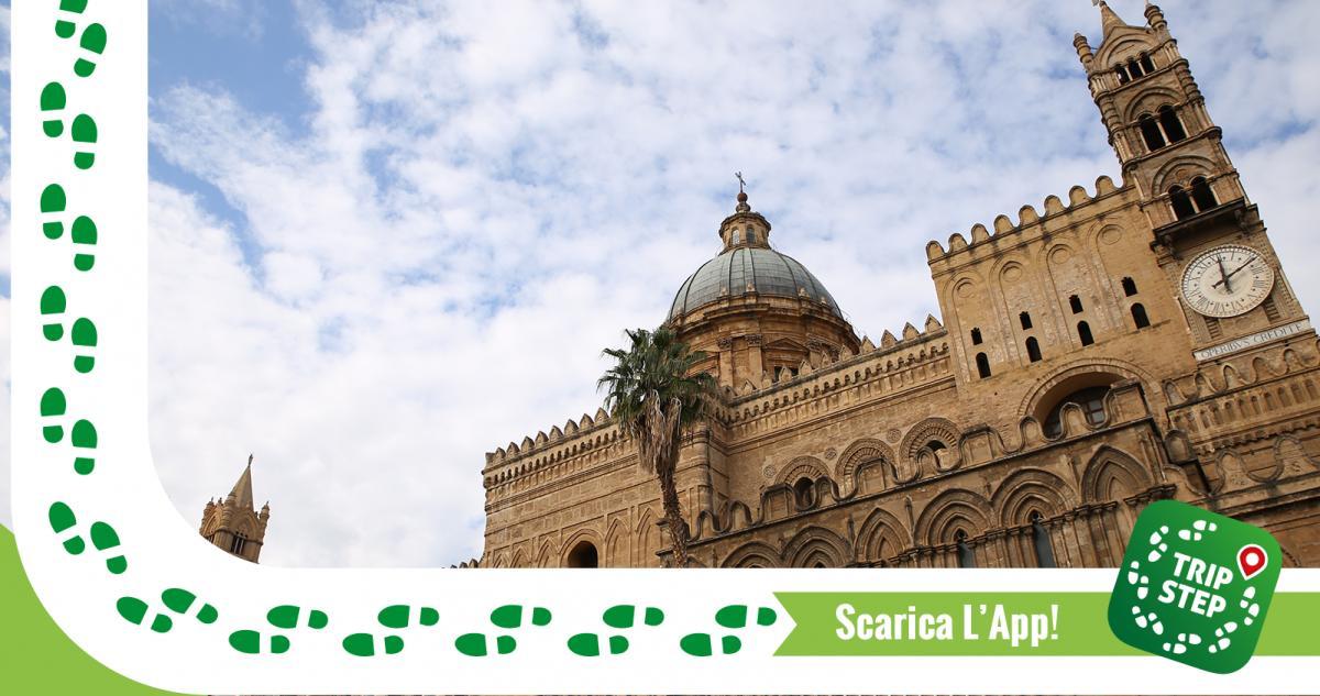 Cattedrale di Palermo scorcio laterale