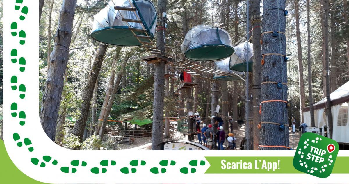 Parco avventura Madonie tende sospese foto di Roberto T via Tripadvisor