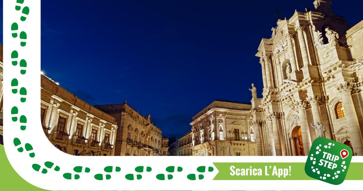 Siracusa, piazza Duomo notturno foto di: Dario Giannobile