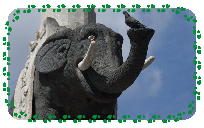 Fontana dell' Elefante - Il Mito di Eliodoro