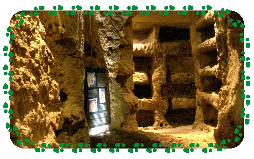 Le catacombe di Santa Lucia