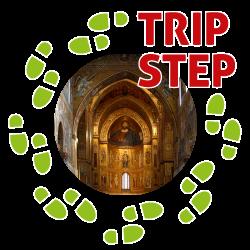 Duomo di Monreale mosaici navata centrale e Cristo Pantocratore foto di: José Luiz Bernardes Ribeiro via Wikimedia Commons