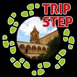 Trapani  Basilica-santuario di Maria Santissima Annunziata vista dal chiostro del monastero foto di: Elder Taylor Garrett
