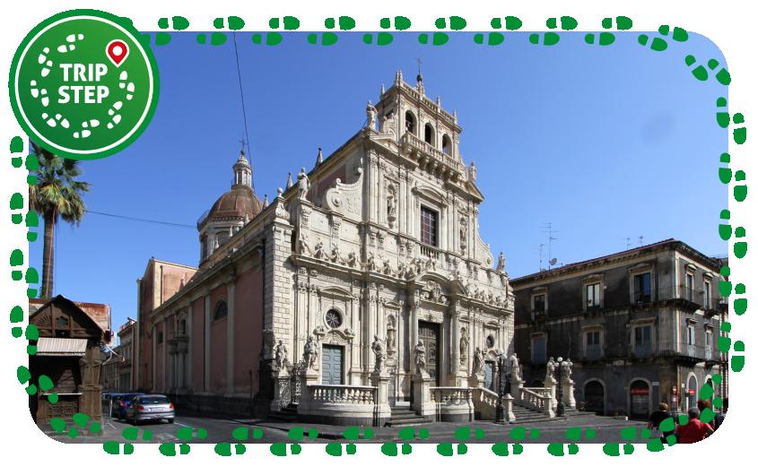 Acireale chiesa di San Sebastiano foto di Carlo Pelagalli via Wikimedia Commons
