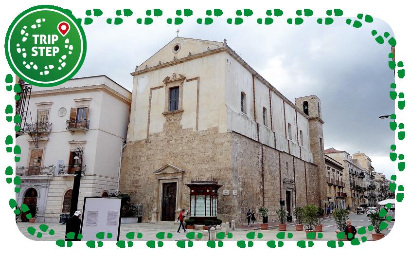 Alcamo chiesa di Sant' Oliva foto di Effems via Wikimedia Commons