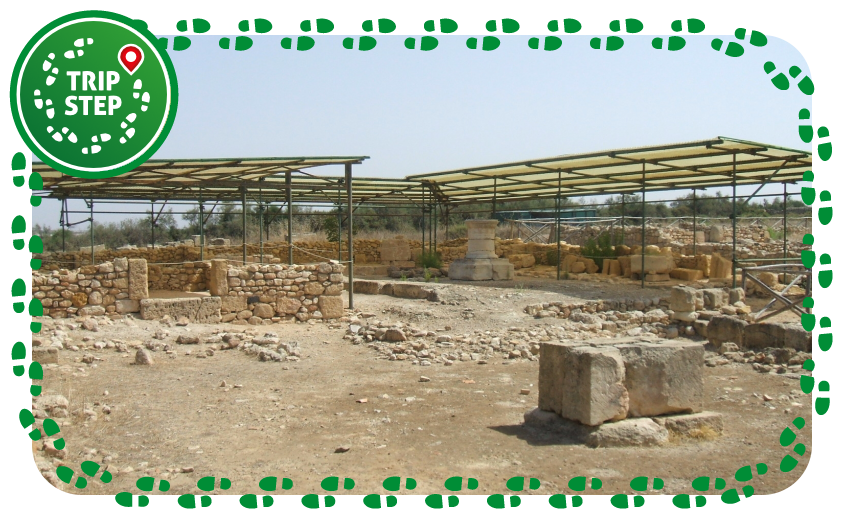 Area archeologica di Kamarina foto di LeZibou via Wikimedia Commons