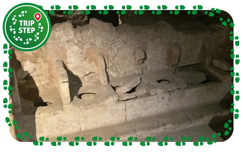 Artemision Putridarium dell' antica chiesa di San Sebastianello