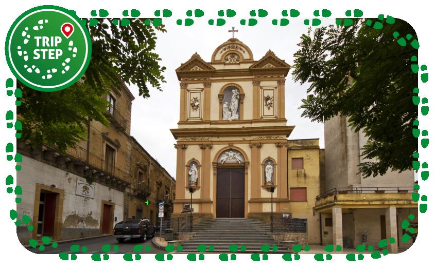 Calascibetta chiesa del Carmine foto di trolvag via Wikimedia Commons