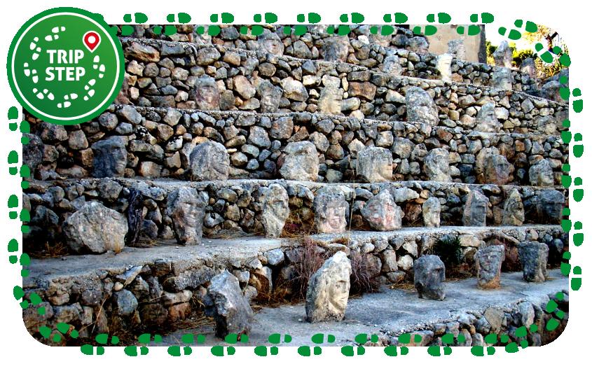 Castello Incantato anfiteatro delle teste foto di magalibobois via Wikimedia Commons