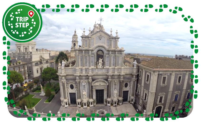 Catania Duomo veduta aerea