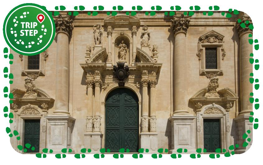 Cattedrale di San Giovanni Battista particolare de portali foto di trolvag via Wikimedia Commons