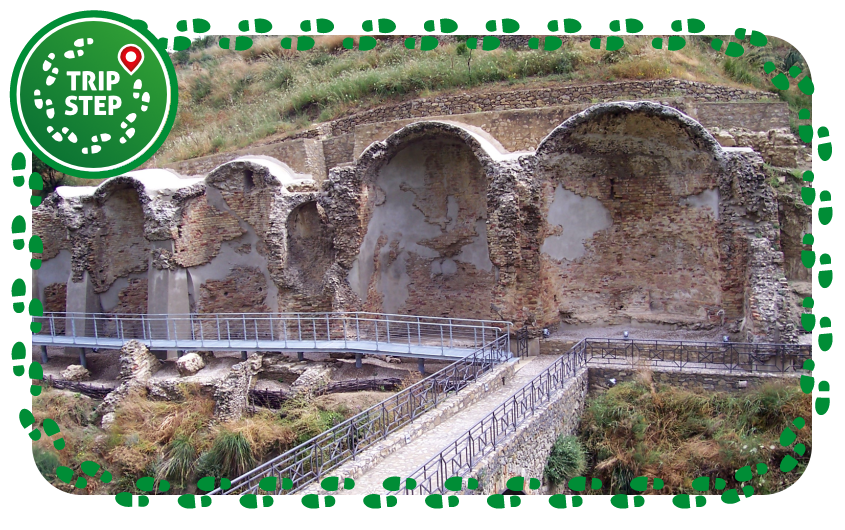 Centuripe Terme Romane in Contrada Bagni foto di Nicolò Fiorenza via Wikimedia Commons