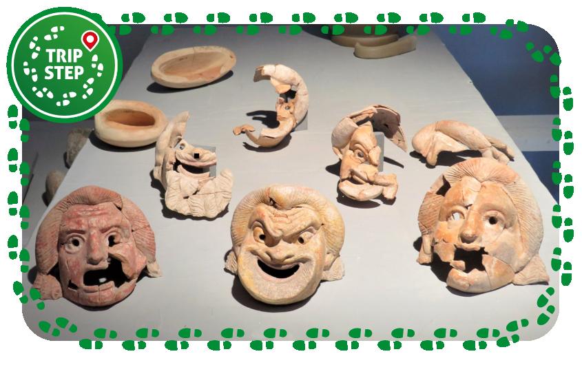 Centuripe Museo Archeologico Regionale maschere foto di Veronique1988 via Tripadvisor