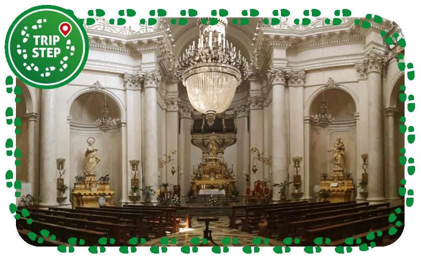 Chiesa della Badia di Sant'Agata interno foto di Eleassar via Wikimedia Commons