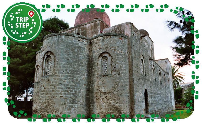 Chiesa di San Giovanni dei Lebbrosi vista posteriore con absidi foto di Bjs via Wikimedia Commons
