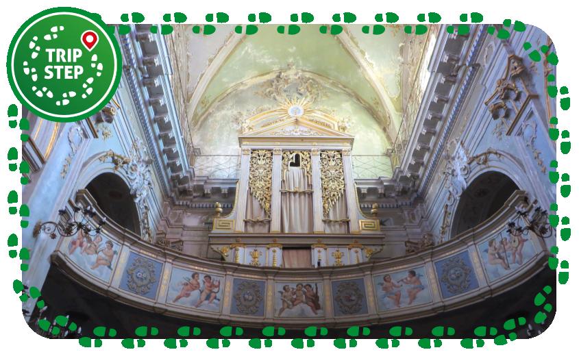 Chiesa di San Paolo cantoria e organo foto claudio d via Tripadvisor