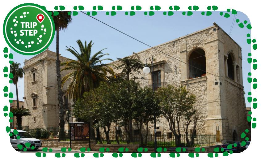 Comiso Castello dei Naselli d'Aragona foto di Mboesch via Wikimedia Commons