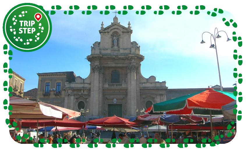 Fera'o Luni in piazza Carlo Alberto  a Catania foto di Triquetra via Wikimedia Commons