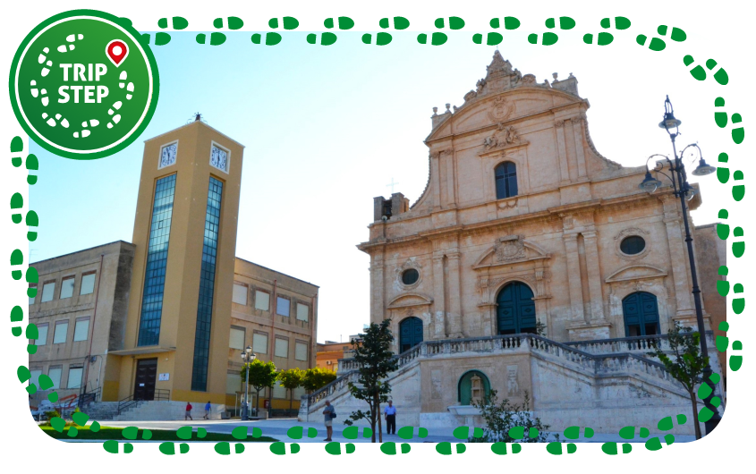 Ispica Chiesa Madre di San Bartolomeo e Torre dell'Orologio foto di Cypher84 via Wikimedia Commons