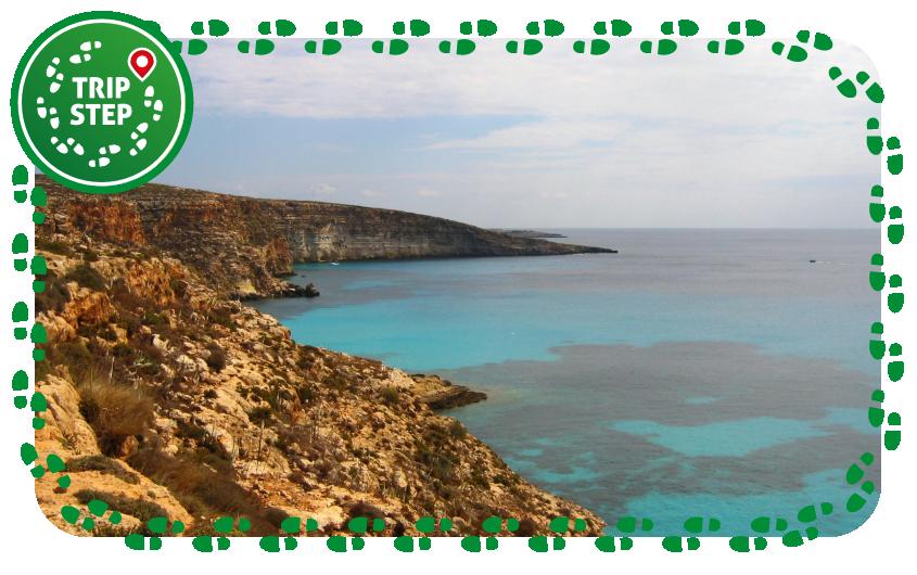 Lampedusa cala Tabaccara foto di: Hein56didden via Wikimedia Commons