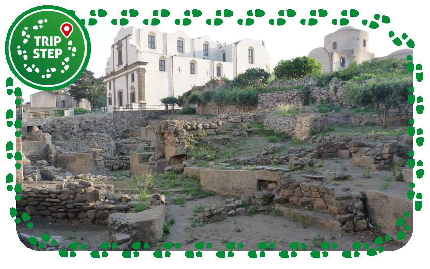 Castello di Lipari, scavi archeologici foto di: Ji-Elle via Wikimedia Commons