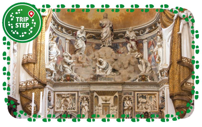 Mazara del Vallo cattedrale interno trasfigurazione sul monte Tabor Gagini foto di Davide Mauro via Wikimedia Commons