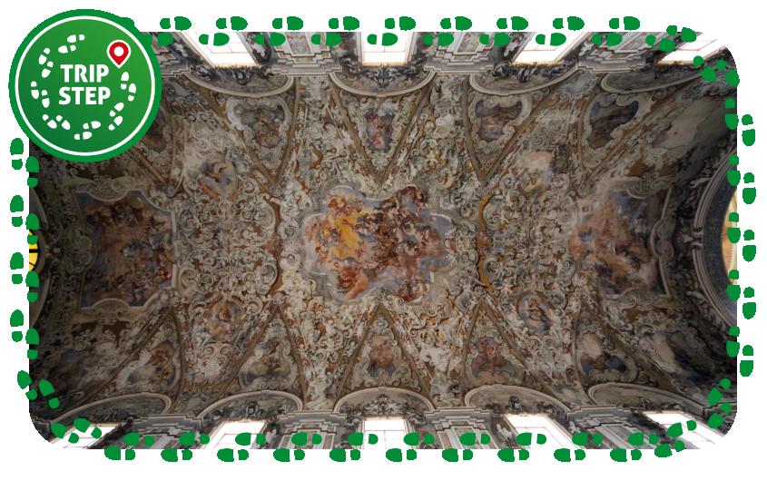 Mazara del Vallo soffitto affrescato della Cattedrale foto di Matthias Süßen via Wikimedia Commons