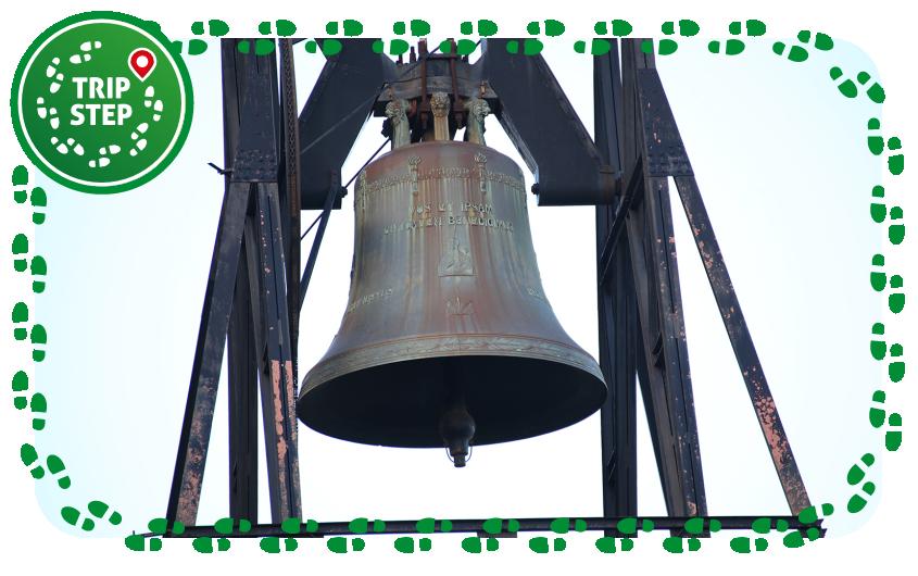 Messina Sacrario del Cristo Re particolare della campana