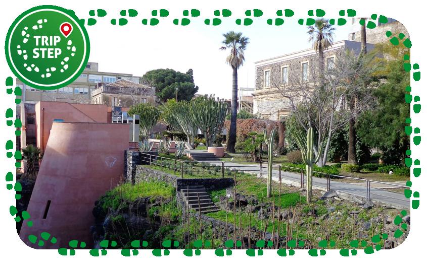 Monastero di San Nicolò la Rena giardino dei novizi foto di Effems via Wikimedia Commons