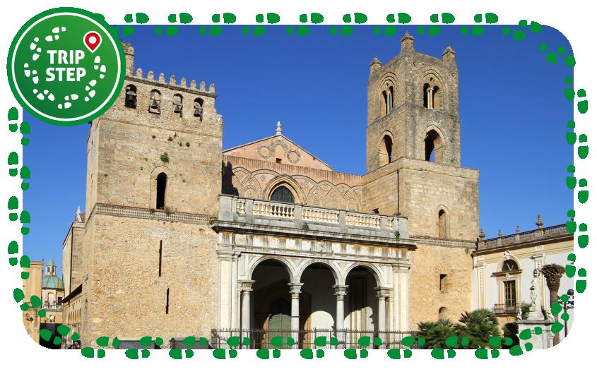 Duomo di Monreale facciata by Carlo Pelagalli via Wikimedia Commons