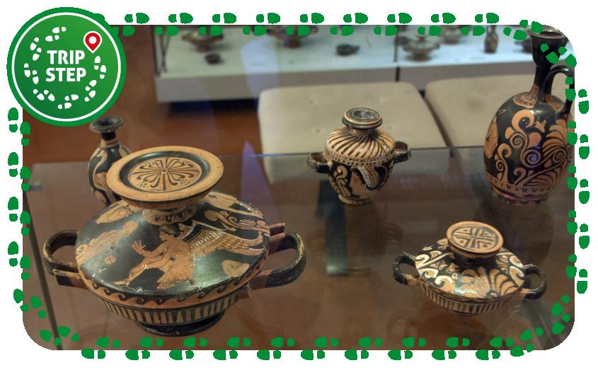 Museo Eoliano sezione classica vasi del pittore di Nyn foto di: Davide Mauro via Wikimedia Commons