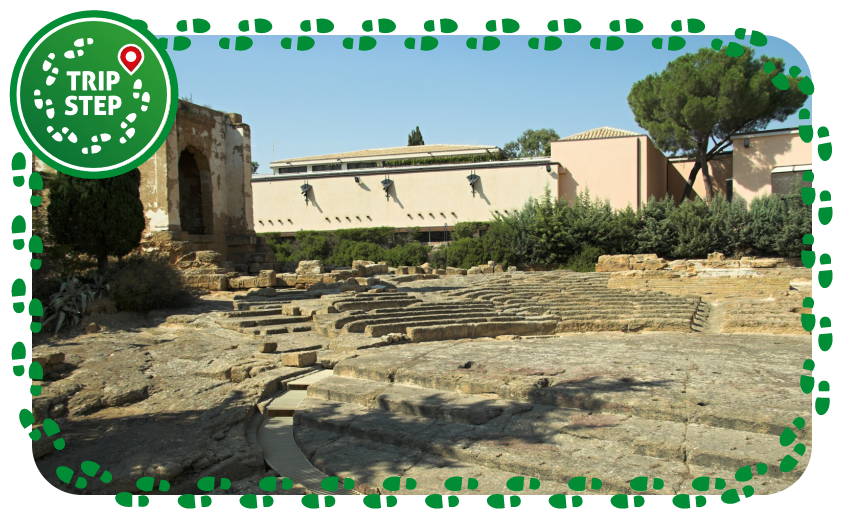Museo archeologico regionale di Agrigento teatro greco foto di: Zde via Wikimedia Commons