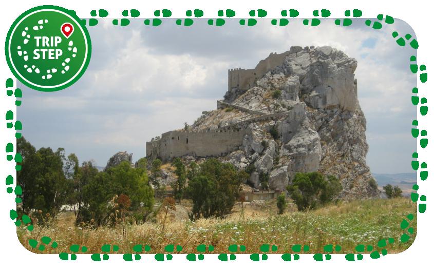 Mussomeli Castello Manfredonico veduta panoramica foto di: Pequod76 via Wikimedia Commons
