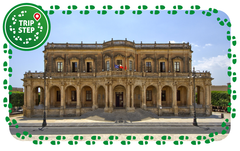 Noto Palazzo Ducezio foto di trolvag via Wikimedia Commons