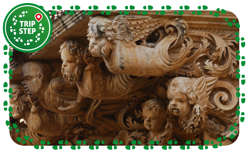 Noto palazzo  Nicolaci Balcone del Principe foto di: giomodica Via Wikimedia Commons